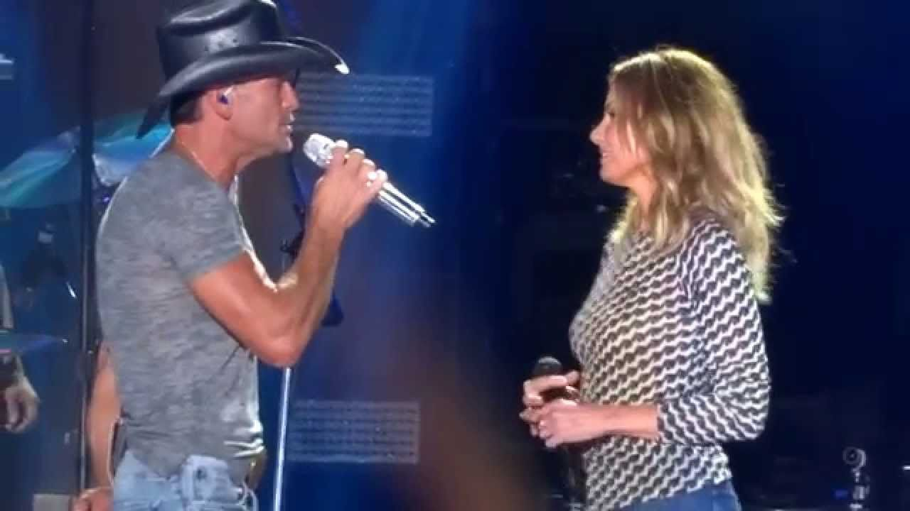 Tim McGraw - Meanwhile Back At Mamas Ft. Faith Hill Live At CMA ...
