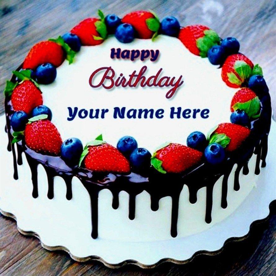 25+ Inspiration Photo of Happy Birthday Cake With Name