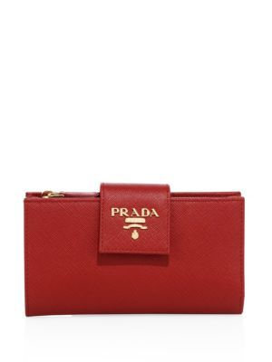 a856939f3d Saffiano Leather Tab Wallet