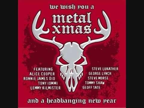 Lemmy Kilmister Dave Grohl Billy F Gibbons Run Rudolph Run Lemmy Heavy Metal Christmas Songs Alice Cooper