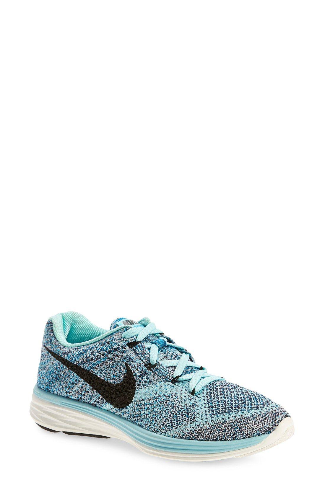 Nike 'Flyknit Lunar 3' Running Shoe (Women   Nike flyknit