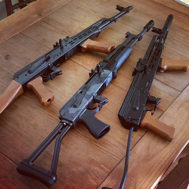 aklineup #ak_all_day #combatcustoms #akbuilder #saiga #ak47 #akm