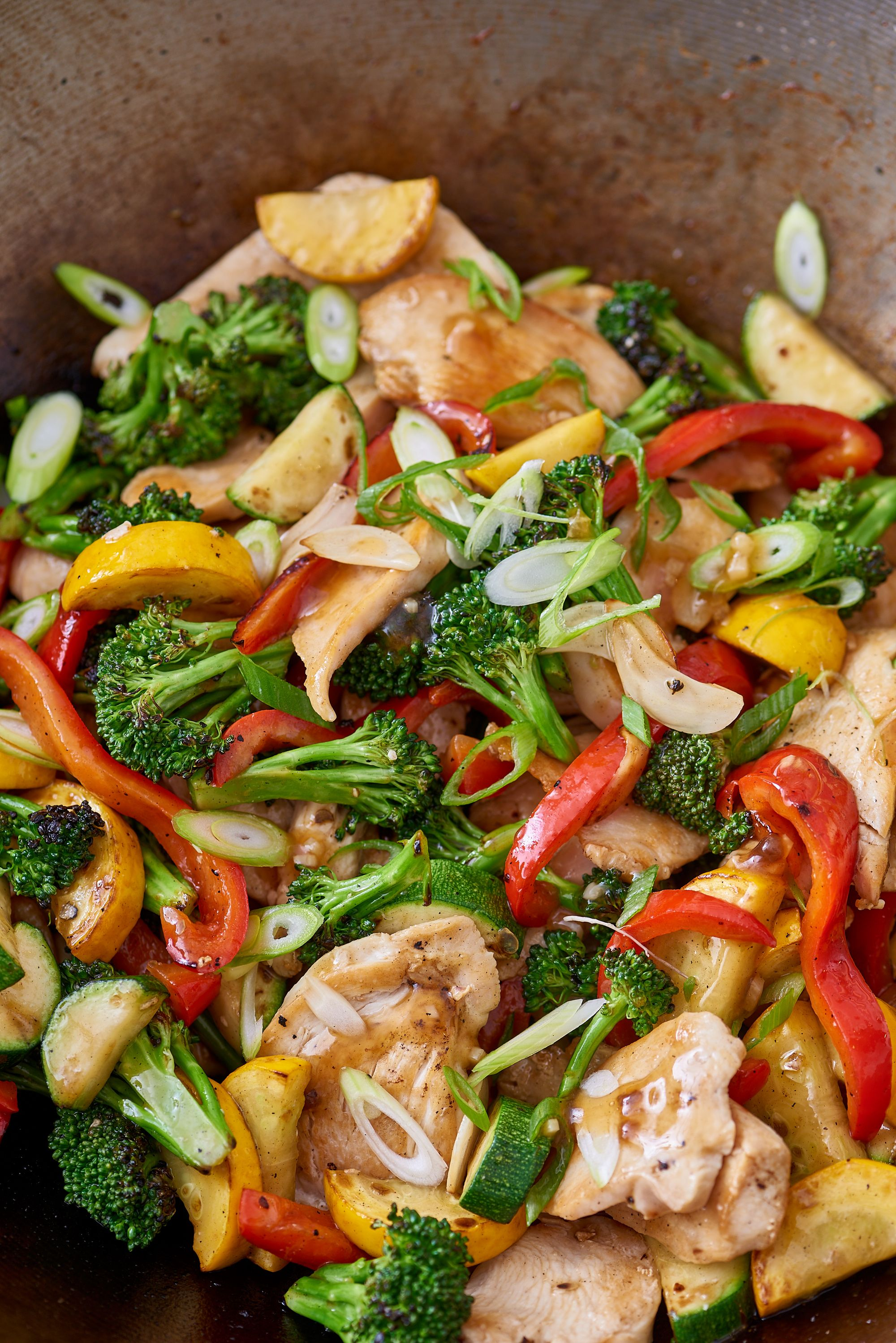 How to make stir fry with chicken and frozen vegetables