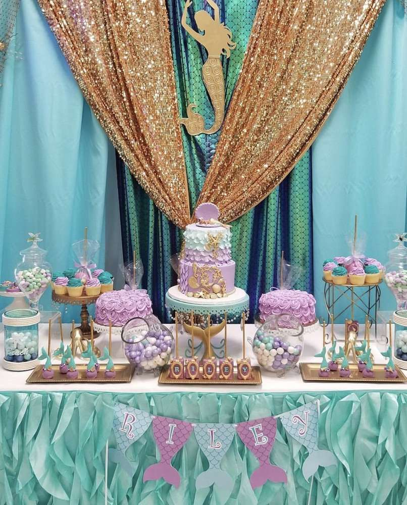 Princess Riley's Under the Sea Baby Shower CatchMyParty