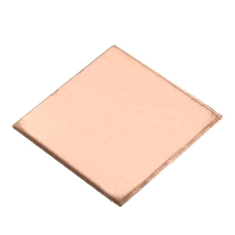 10pcs 0 1mm 0 3mm 0 5mm 0 8mm Laptop Heatsink Sheet Copper Sheet Plate Strip Shim Thermal Pad For Gpu Cpu Vga Chip Ram C Copper Sheets Computer Components Vga