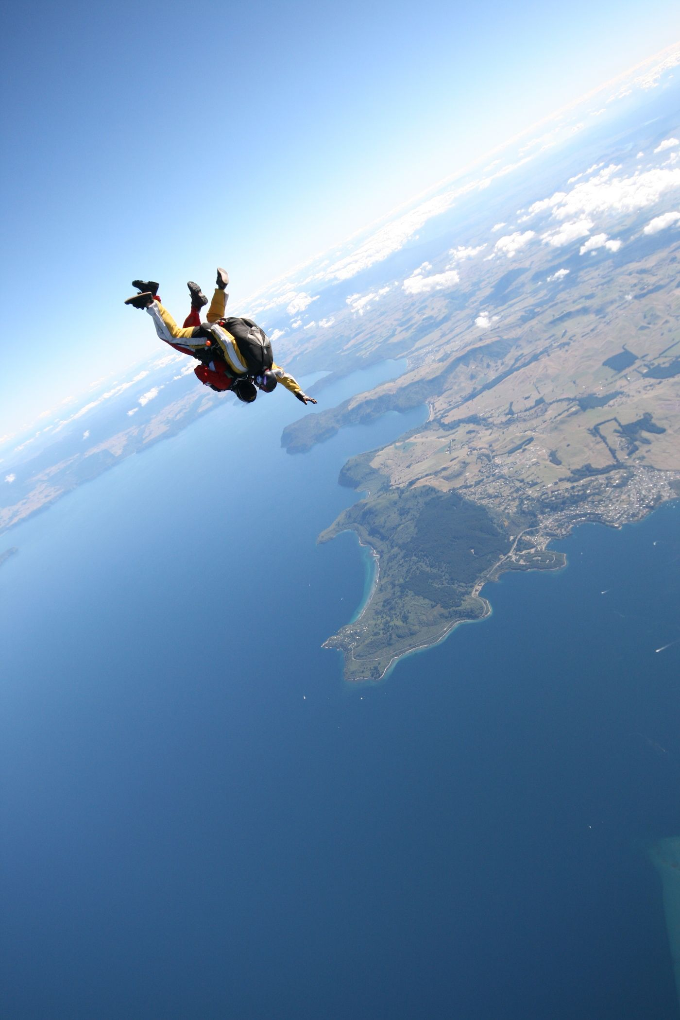 Skydiving is the scariest but most exhilarating thing I