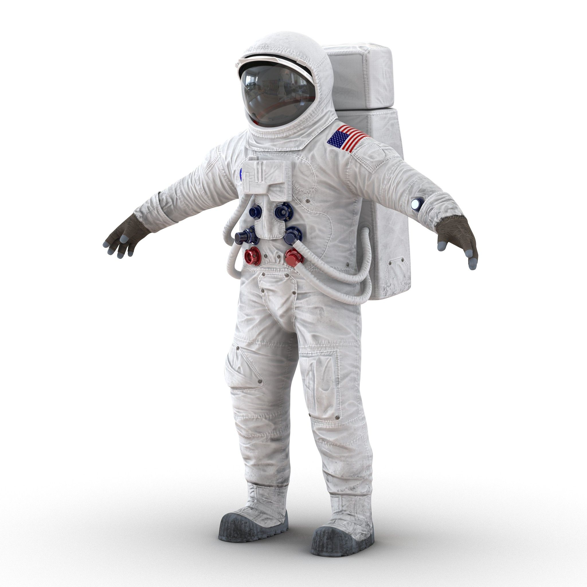 a7l apollo skylab spacesuit 3d model in 2019 | Astronaut ...