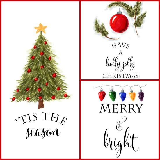 Christmas Wall Art free christmas printables.. | printables | pinterest | artworks