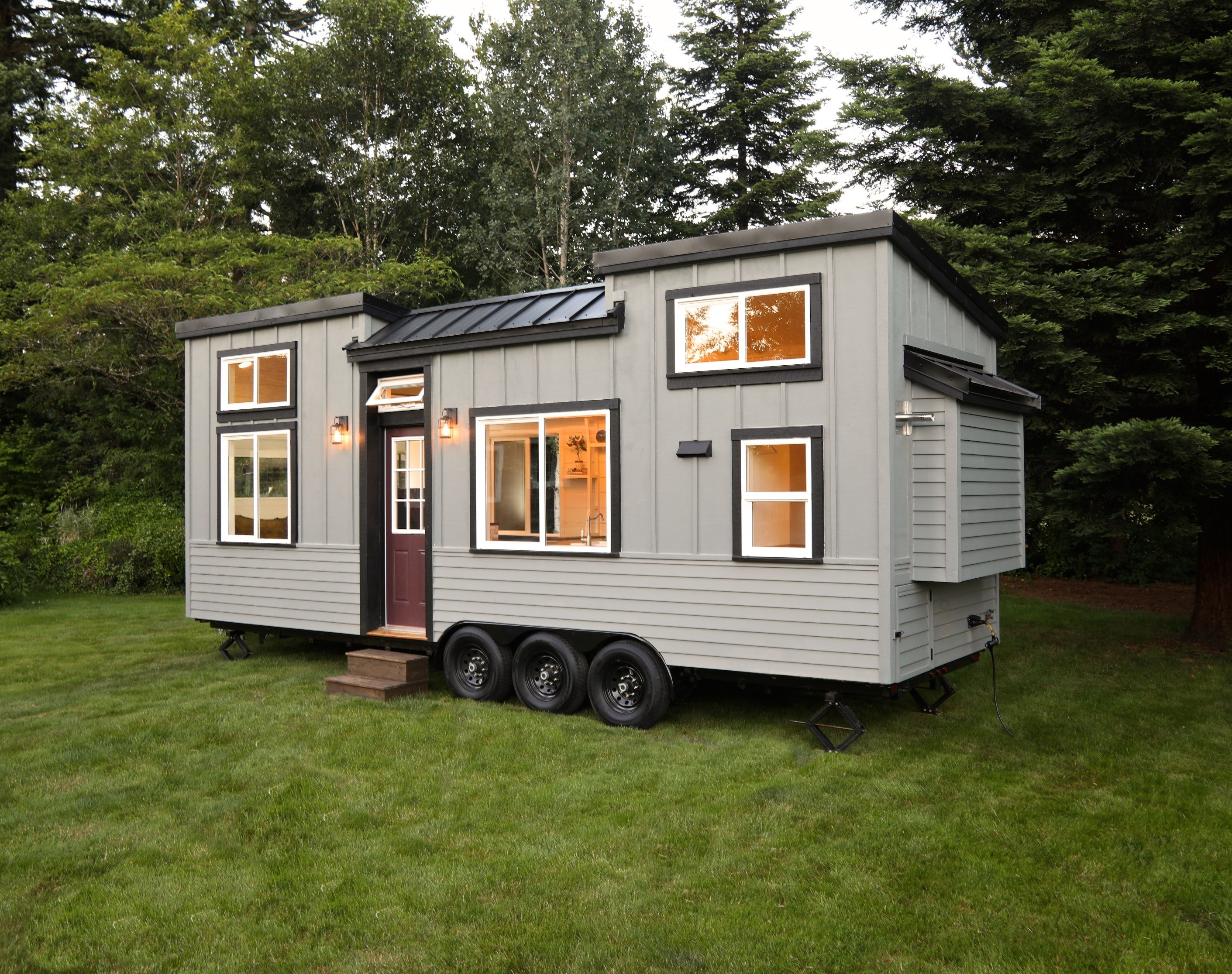 Pacific Pioneer Tiny House For Sale In Portland Oregon Tiny House Listings Tiny House Trailer Container House Plans Container House
