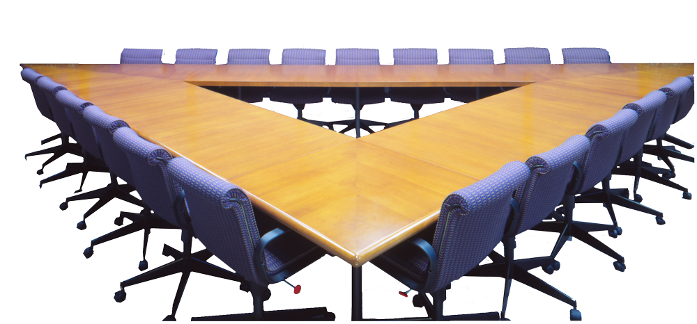 intrex lg triangle conference table office furniture pinterest