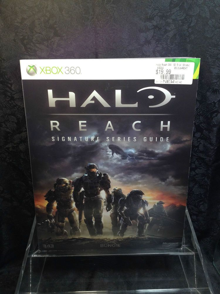 Halo Reach Strategy Guide Book Xbox 360 Ps3 Pc Bradygames Good