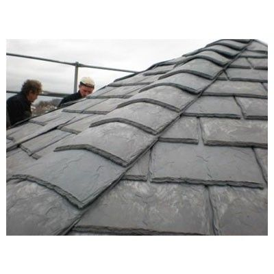 Eco Slate Recycled Plastic Roof Tile Box Of 34 300mm X