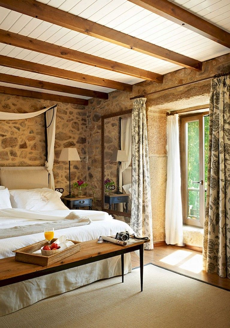 inspiring country chic bedroom decorating ideas | 72 Inspiring Italian Style Bedroom Decor Ideas | Italian ...