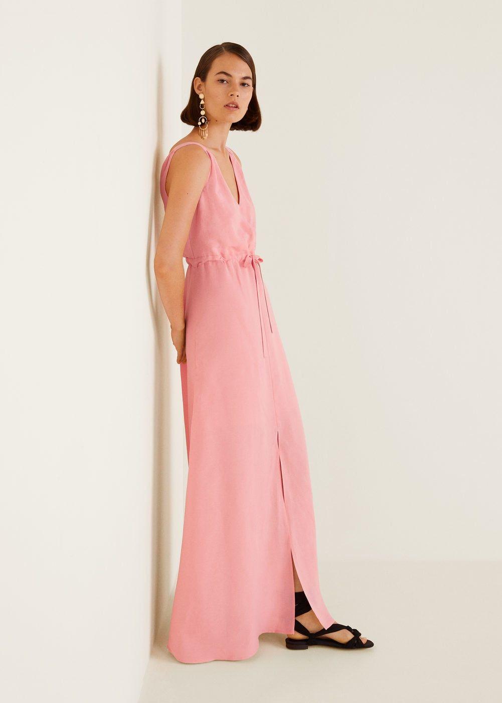 1d31cf1b98 Linen-blend long dress - Women in 2019