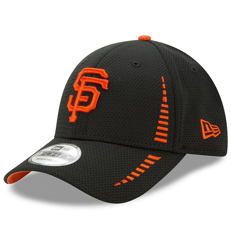2f22e4eee Adult New Era San Francisco Giants 9FORTY Speed Adjustable Cap, Black