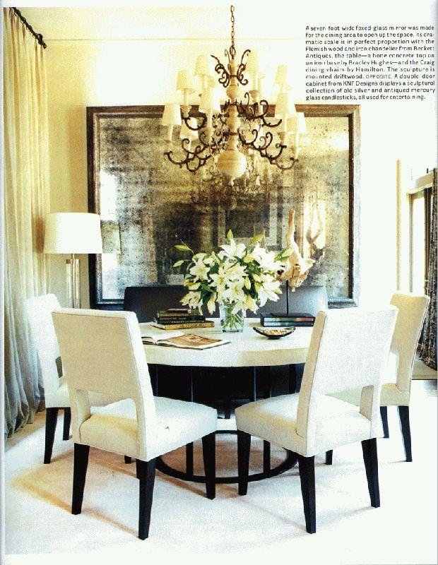 Sillas color crema como nuestras vila en www for Muebles de comedor modernos en rosario