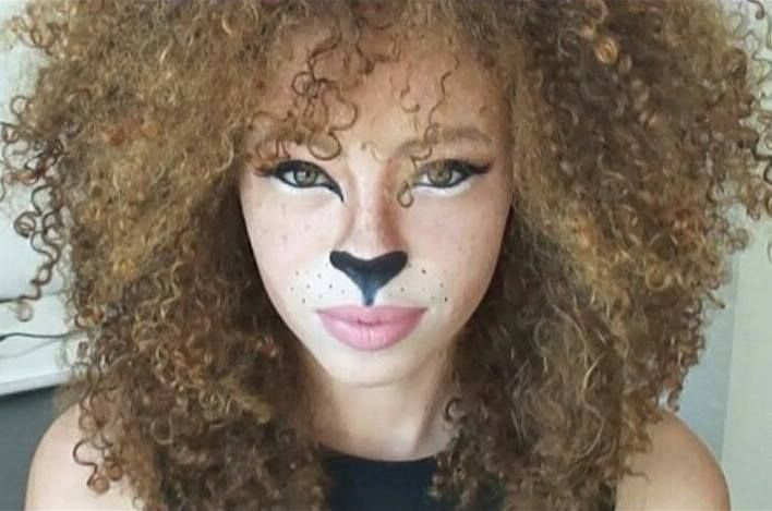 Halloween Costumes For Natural Hair Tgin Lion Makeup Lioness Makeup Halloween Makeup