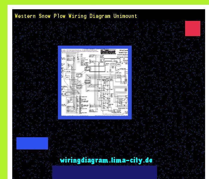 western snow plow wiring diagram unimount wiring diagram