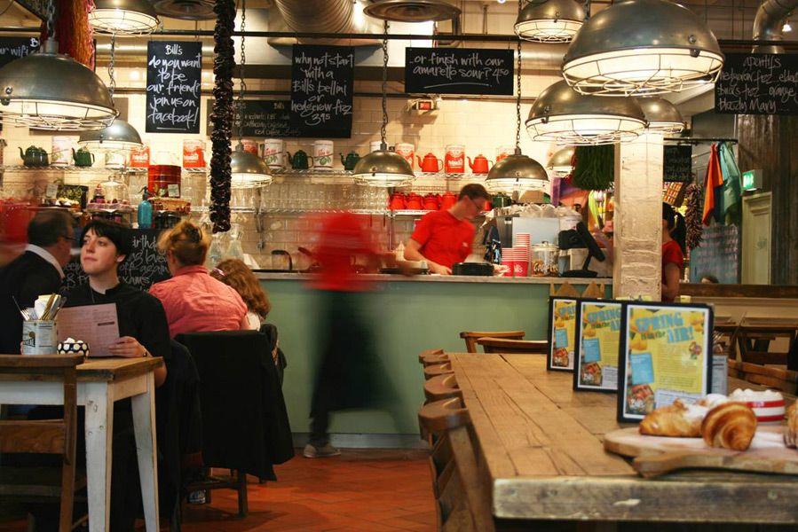 Bill S 28 St Martin S Courtyard Off Long Acre Covent Garden Mon Sun 9h 22h30 Bills Covent Garden Restaurant Bar
