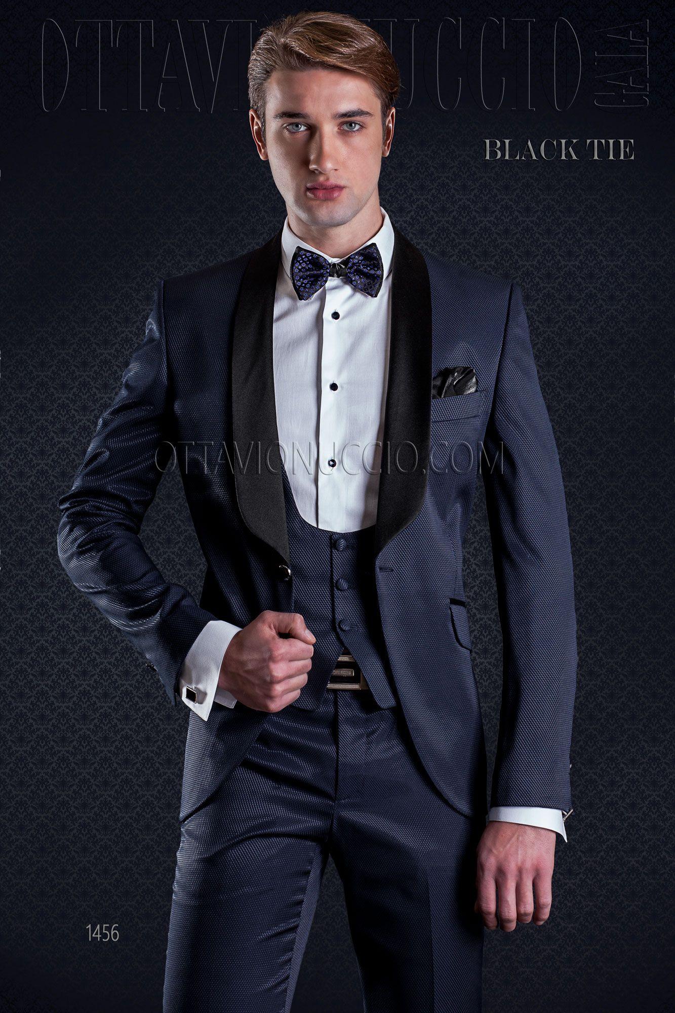 Blue shawl tuxedo with matched vest  bespoke  madeinitaly  weddingsuit   groomsuit  weddingtuxedo  groom  weddings  brideandgroom 9126f61d6a69