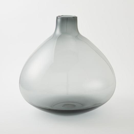 Oversized Glass Vase Vase Glass Floor Vase Glass Vase