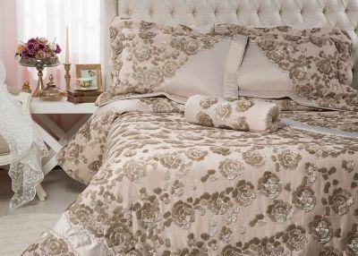 Melında Yatak Örtüsü Bej #homesweethome #white #dowry # ...