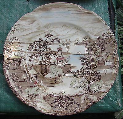 Ceramika Johnson Brothers Olde English Countryside  Kuchenteller