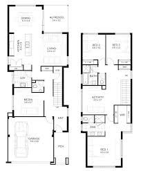 Related Image House Plans 2 Storey Narrow House Plans Two Story House Plans