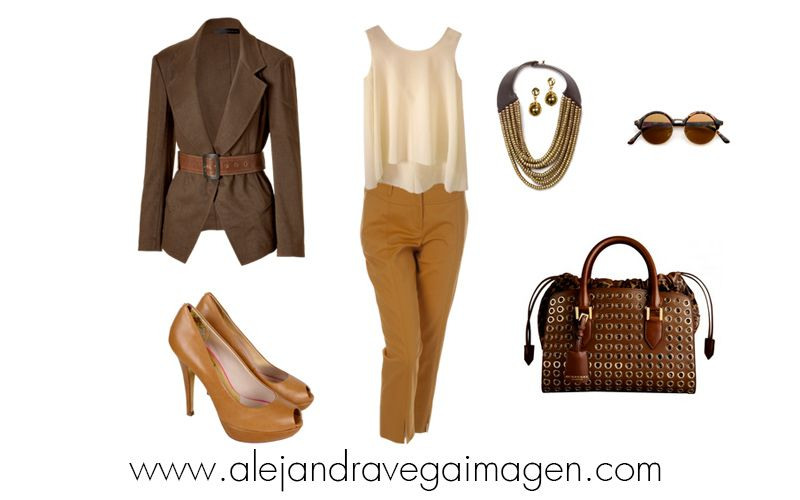 Una idea de look chic y casual.