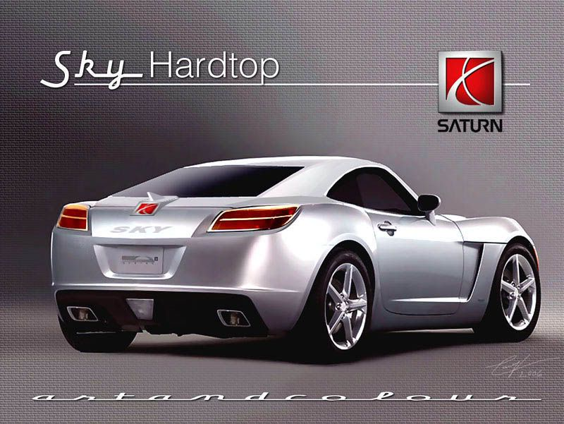 Saturn Sky Coupe Graphics Code Comments Pictures