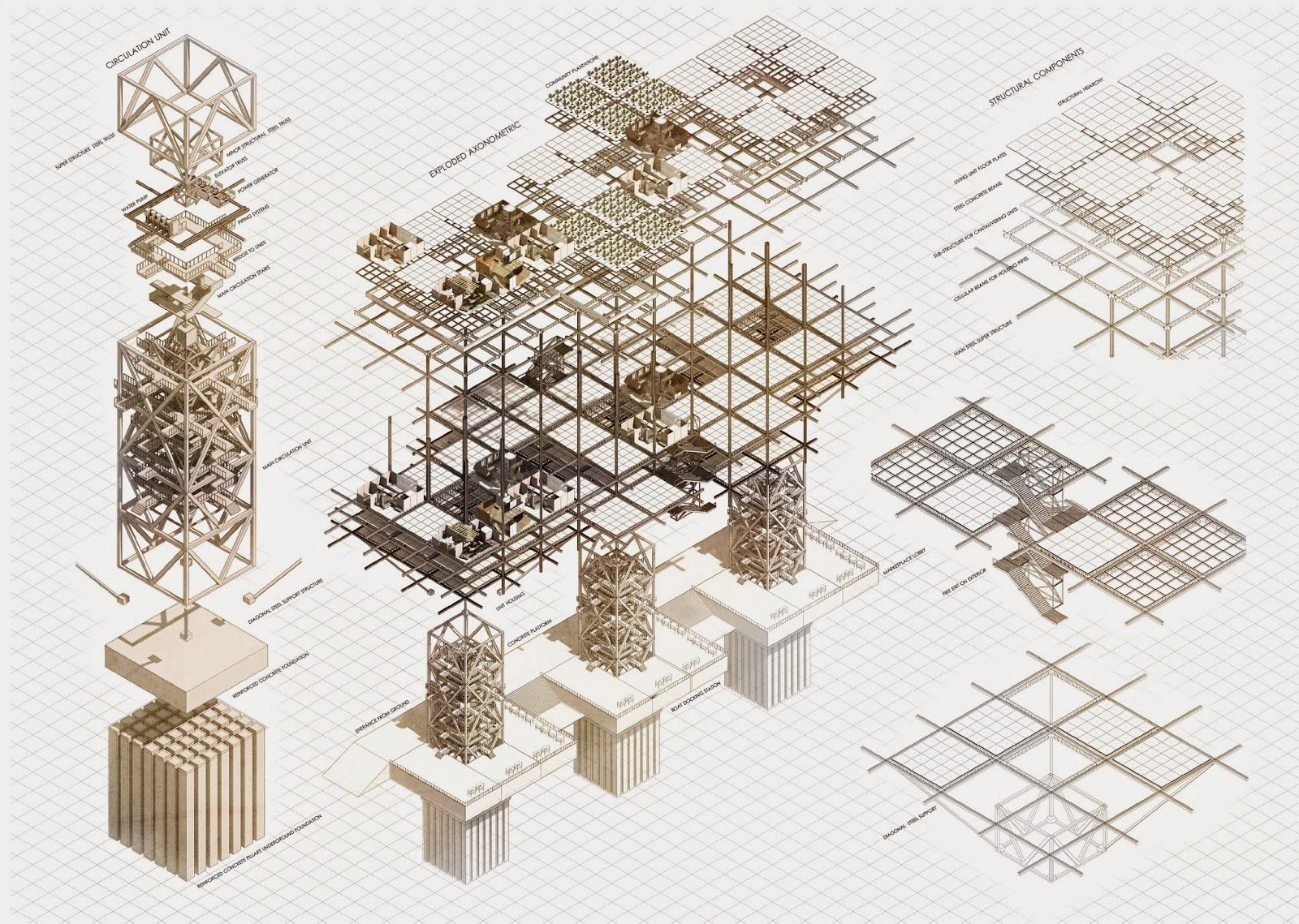 Collective habitat kin project modular housing for Architectural modular homes