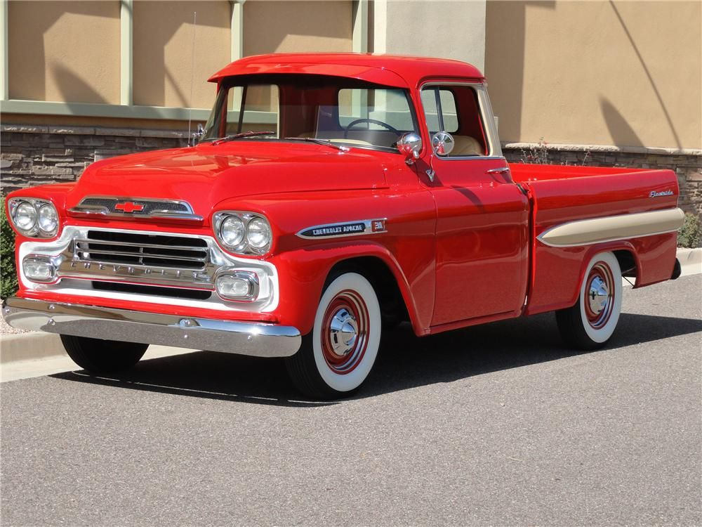 Over 40 Pages Of Documents And Receipts Go With This Apache Short Bed A No Expense Spared Nut And Chevrolet Apache Classic Cars Trucks Classic Pickup Trucks