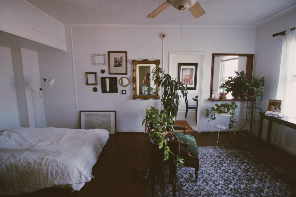 Inside my 1100 Los Angeles Studio Tour Apartment Tour