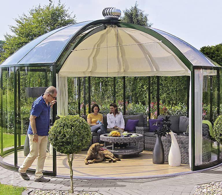Gewächshäuser Pavillons Windschutz Wintergärten