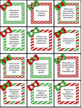 Bingo Santa (1 card/1 envelope) Funny Christmas Card from ... |Christmas Bingo Questions Funny
