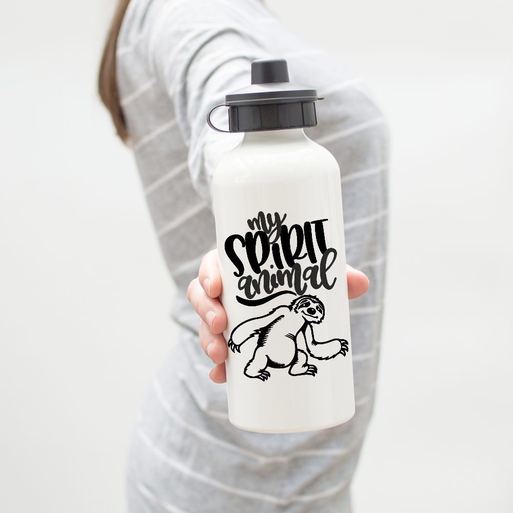 5cfb1efda9 Sloth Spirit Animal Water Bottle. Find this Pin and more on Products by Lucky  Dog ...
