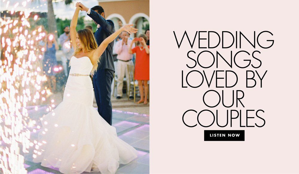 40 First Dance Songs from Real Weddings in 2020 Wedding