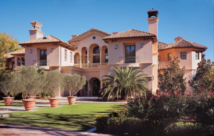 Gold List 2020 Designs By Sundown Luxe Interiors Design Tuscan Style Tuscan House Front Elevation