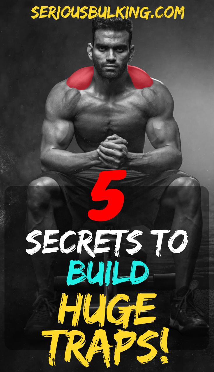5 Secrets to Build HUGE Traps #trapsworkout