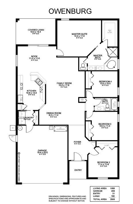 Owenburg Floor Plan Highland Homes Bedroom Addition Plans Garage Floor Plans Home Addition Plans