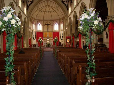 decorations for church sanctuary beautiful church and decorated for christmas my bride and grooms - Christmas Decorating Ideas For Church Sanctuary