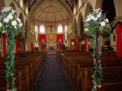 Cathrin D Entremont Weddings Church Decorations For Christmas Church Decor Church Christmas Decorations Church Altar Decorations