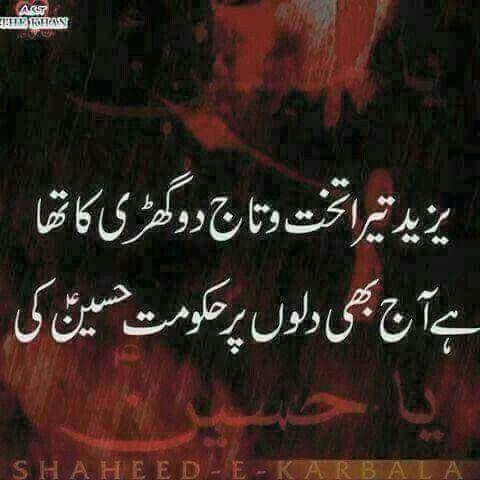 Pin by iqra rafiq on °islam° Muharram quotes, Muharram