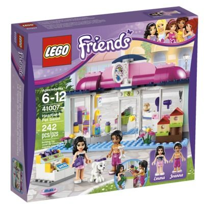 Target Kmart Lego Friends Pet Salon 41007 2499 Lego Friends