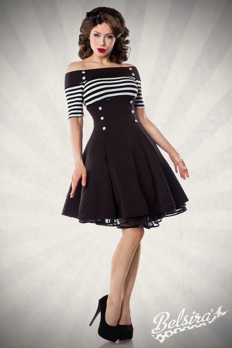 Vintage Dress by Belsira. Worn by Ophelia Overdose. Pin-Up, Retro ...