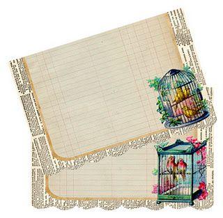 Birdcage Notecards