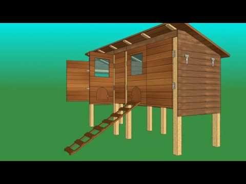 plans de poulaillers comment construire un poulailler. Black Bedroom Furniture Sets. Home Design Ideas