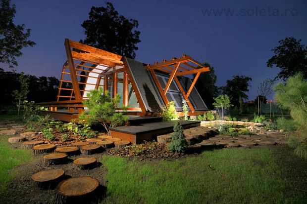 soleta zeroenergy eco habitat pinterest maison futuriste la nature et design maison. Black Bedroom Furniture Sets. Home Design Ideas