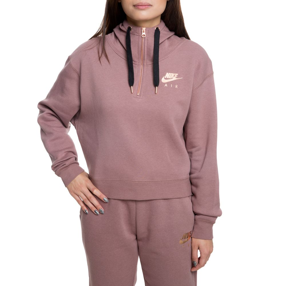 2423d4cf5 Nsw air hz hoodie flc smokey mauve/black/rose gold | Products ...
