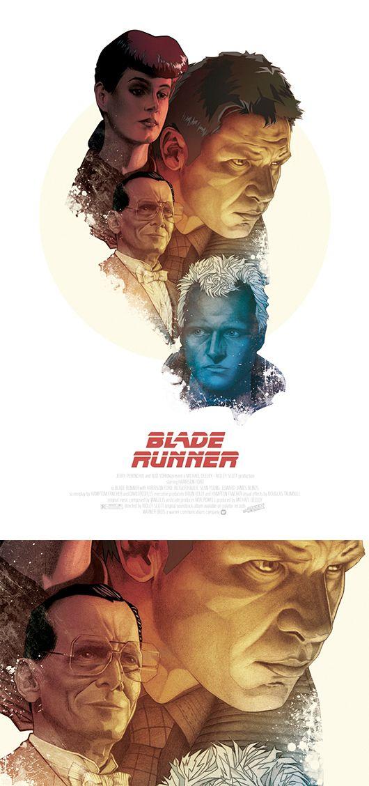 Blade Runner Fan Art Movie Poster Art Blade Runner Poster